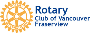 Rotary Club of Vancouver Fraserview Logo