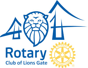 Rotary Club of Lions Gate North Vancouver Logo